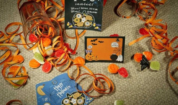 Design for Halloween: Place Cards & Tags